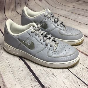 NIKE AIR FORCE One 82 Men's wolf gray sneakers